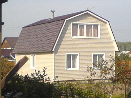 Деревянные стены для дачного дома