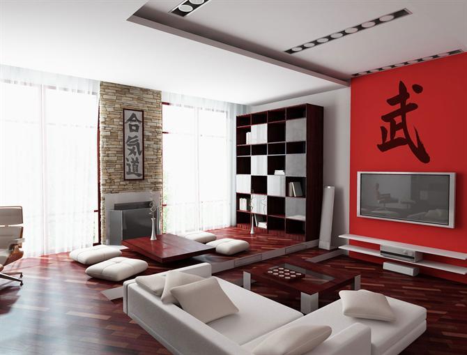 фото интерьера в китайском стиле
