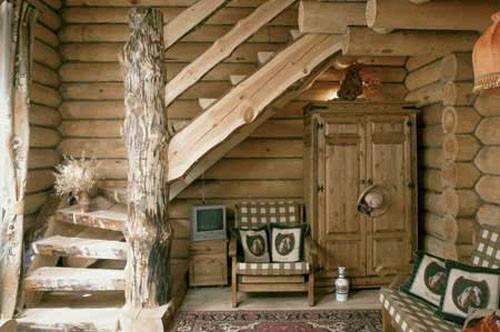 Оформление дачного дома