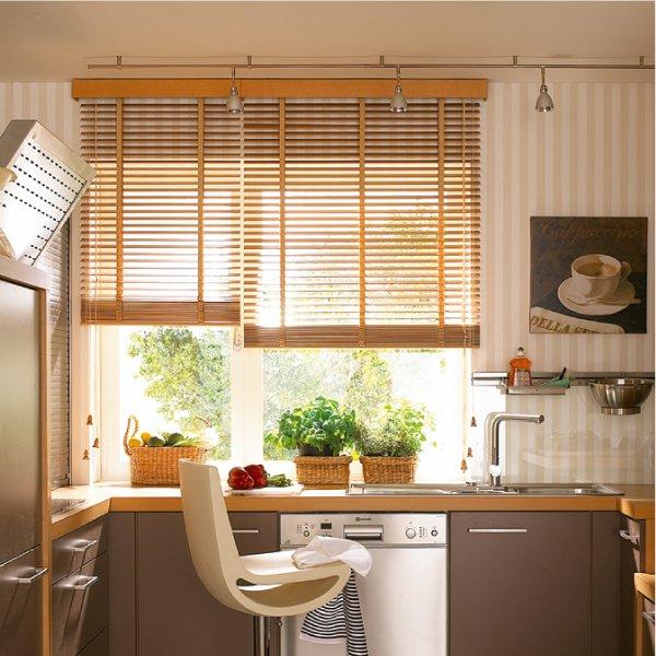 Фото дизайн окна на кухне