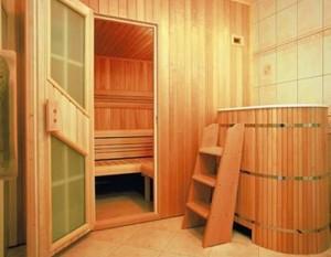 Материалы для внутренней отделки бани