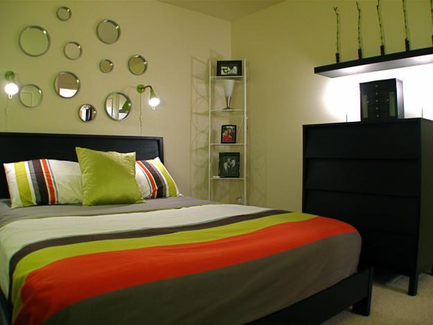 Дизайн спальни на дачи