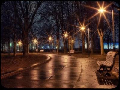 Освещение парков