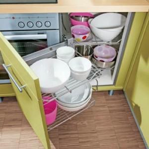 Обустройство небольшой кухни