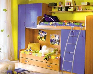 Мебель определяет быт ребенка
