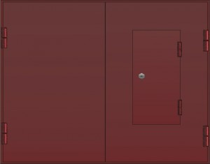 какой краской покрасить ворота