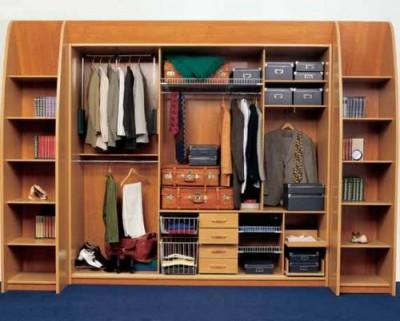 гардеробные шкафы как предмет интерьера