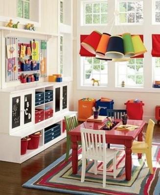 Интересные идеи интерьера для детской игровой комнаты