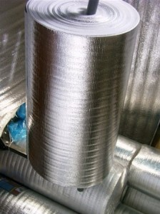 тепловая изоляция газового оборудования и трубопровода котельной в доме