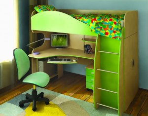 Подходит ли МДФ для изготовления детской мебели?