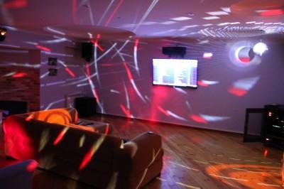 Домашняя дискотека. Лазерная цветомузыка и светодиодное освещение.