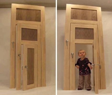 как отремонтировать старую дверь
