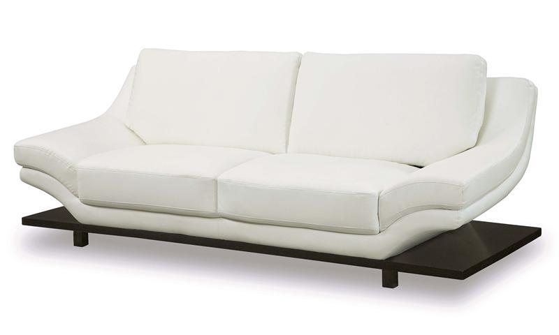 Белый кожаный диван в Москве с доставкой