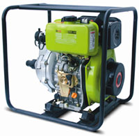водяная мотопомпа GenPower