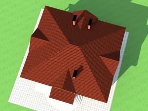 Как построить вальмовую крышу