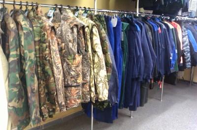 Одежда для туризма, рыбалки, охоты