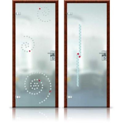 Стеклянные межкомнатные двери для дома и офиса