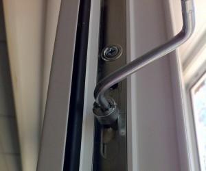 Adjustment of plastic windows