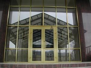 Aluminum entrances