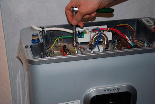 Ремонт водонагревателя аристон 50 литров своими руками