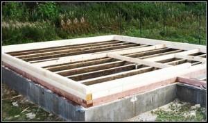 Building the foundation for a bath