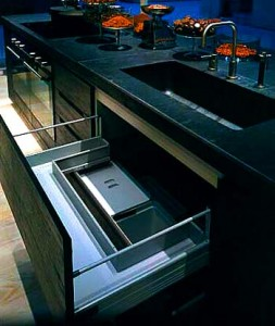 Built-in furniture for the kitchen