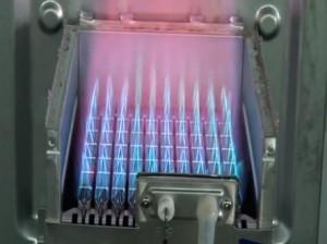 Burner boilers