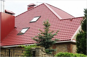 Calculate the metal roofing on the roof