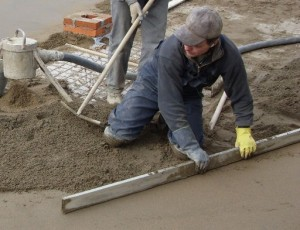 Calculation of cement screed