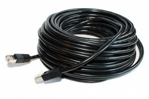 Compress the cable utp