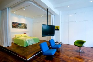 Creative design of the apartment