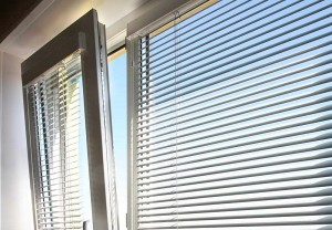 Crepe blinds for plastic windows