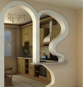 Decorative interior arches