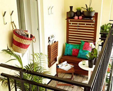 Design ideas for small balcony