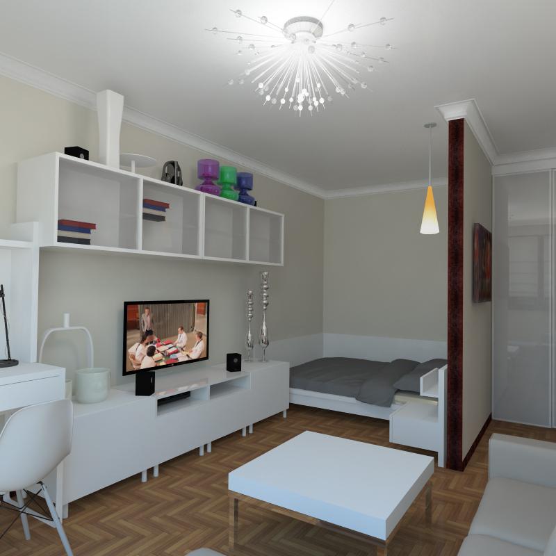 Дизайн квартиры однокомнатной своими руками