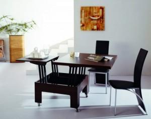 Dining Tables with folding, Обеденные раскладные столы трансформеры