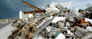 Disposal of construction waste