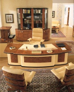 Executive office furniture in
