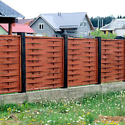 Fences for cottages