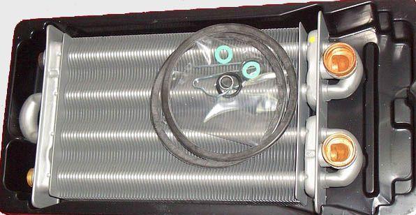 Как снять теплообменник с газового котла беретта найк мини теплообменник