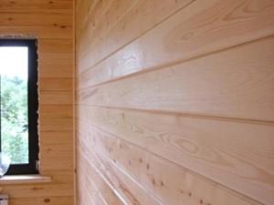 Installation imitation timber
