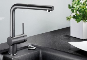 Installation of kitchen faucet