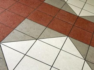 Kvartsvinilovaya floor tiles