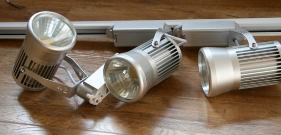 светодиодные светильники трековые