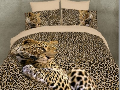 Linens with 3D effect