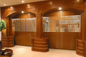 Modern perforated shutters