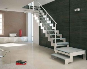 Modular stairs to the house