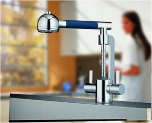Original faucets for the kitchen