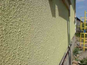 Outdoor decorative plaster