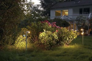 Outdoor floodlight for cottages